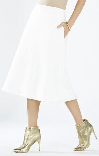Mannie A-Line Fringe Skirt