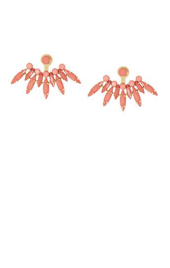 Spike Stone Earrings