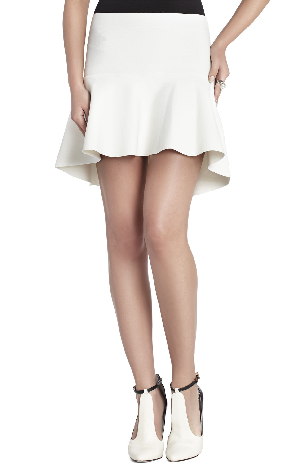 Evelyn Peplum Skirt