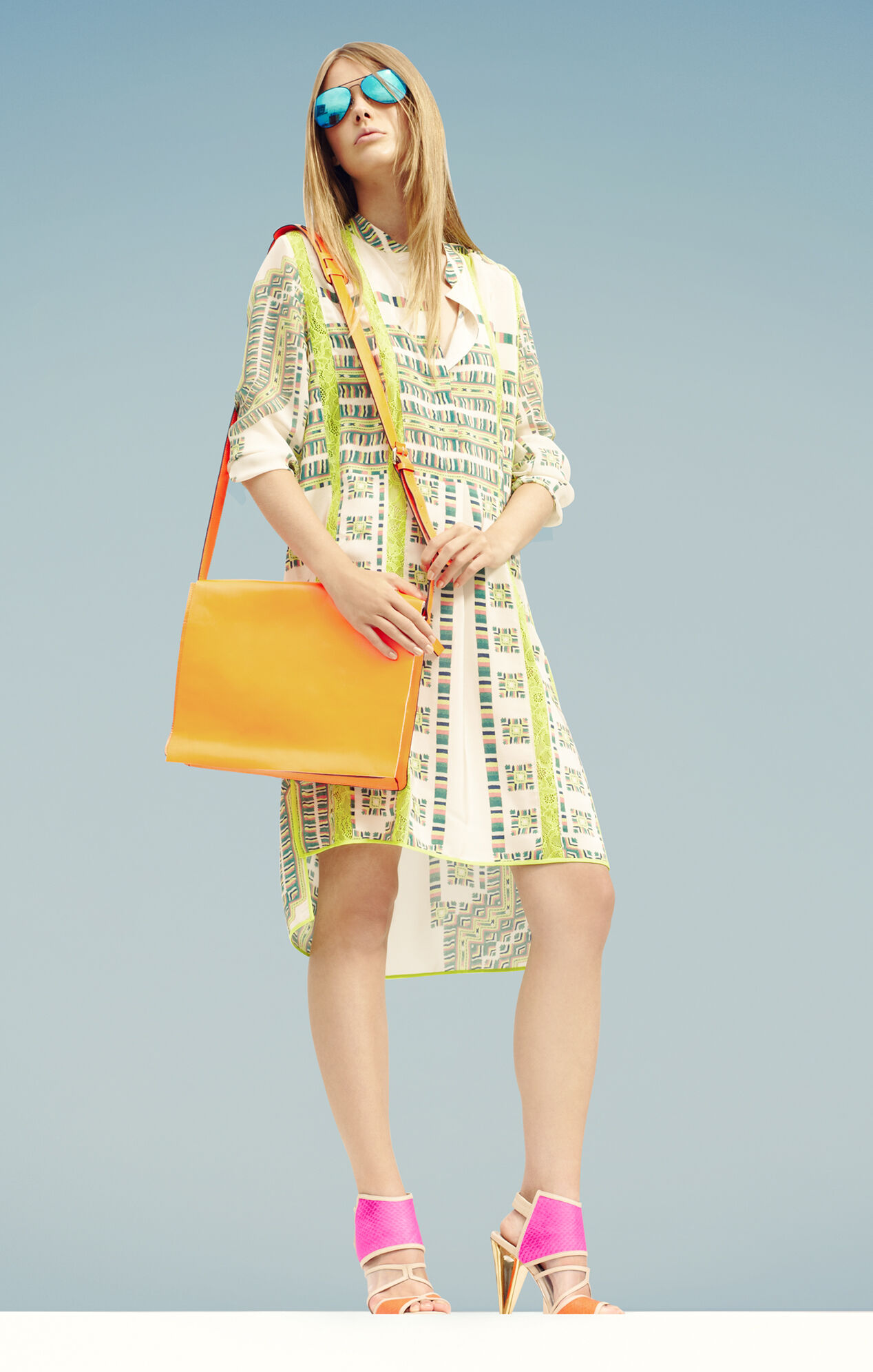 Runway Pailey Silk Shirtdress