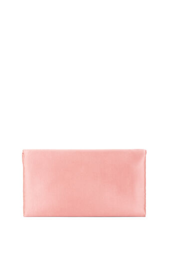 Milena Satin Filigree-Detail Clutch