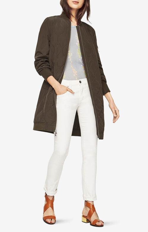 Amelia Quilted Bomber Jacket