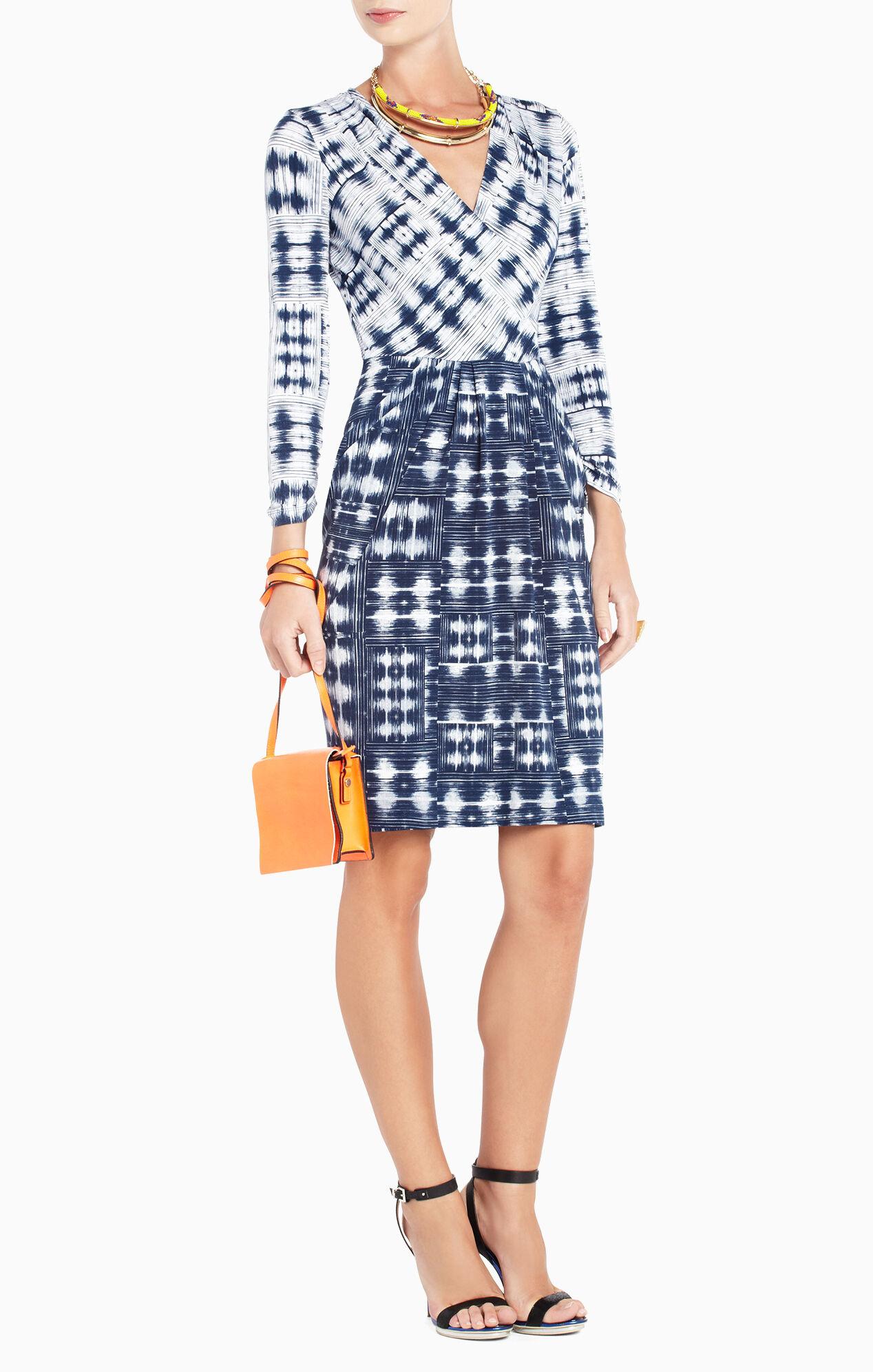 Jaslyn Printed Side-Pocket Dress