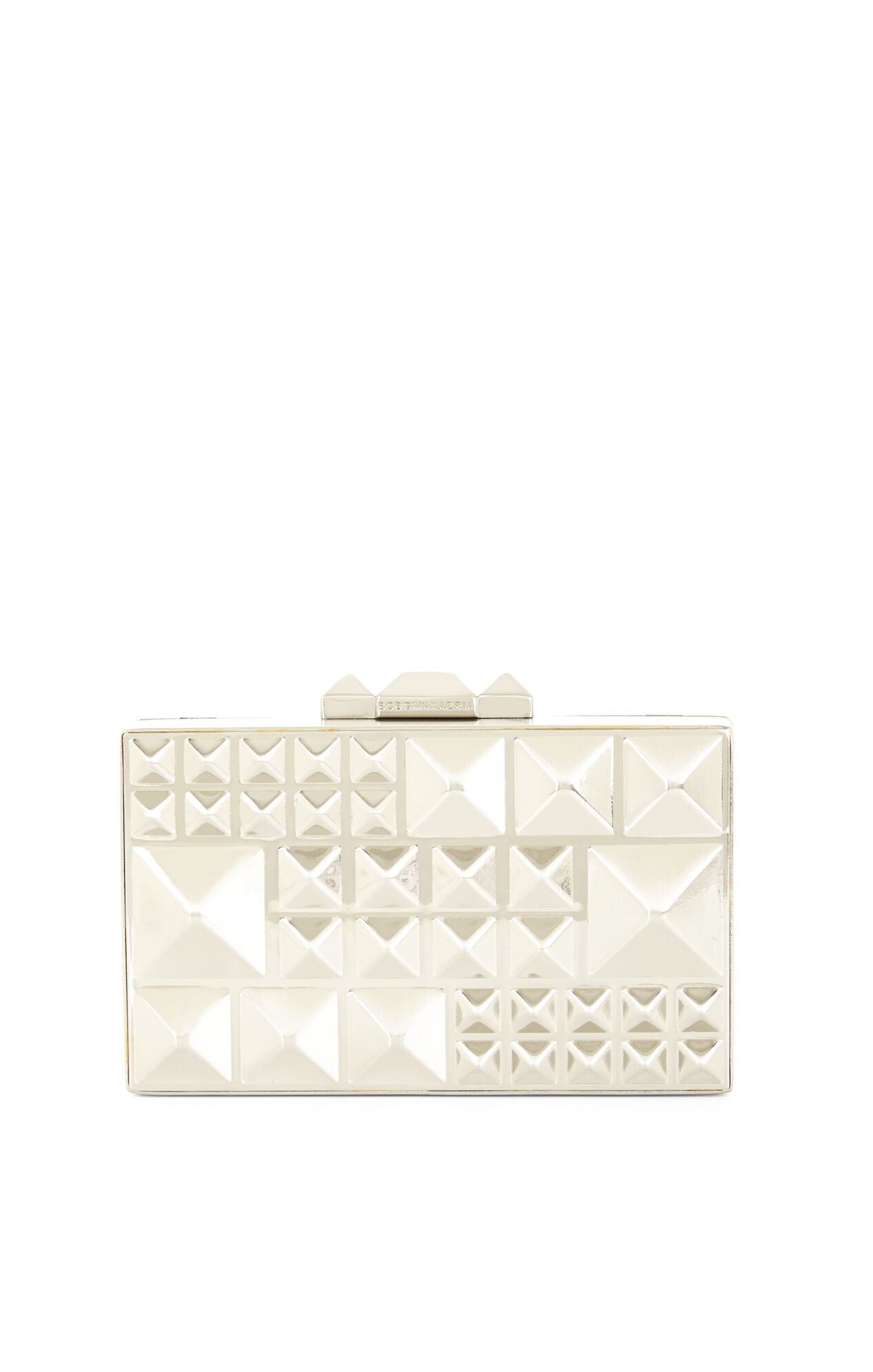 Dee Pyramid Hard-Case Clutch