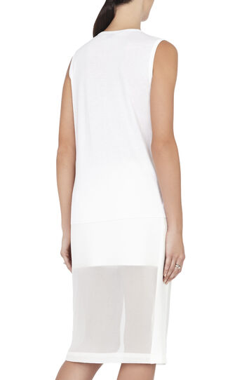 Kourtney Sleeveless Contrast-Knit Strap Top