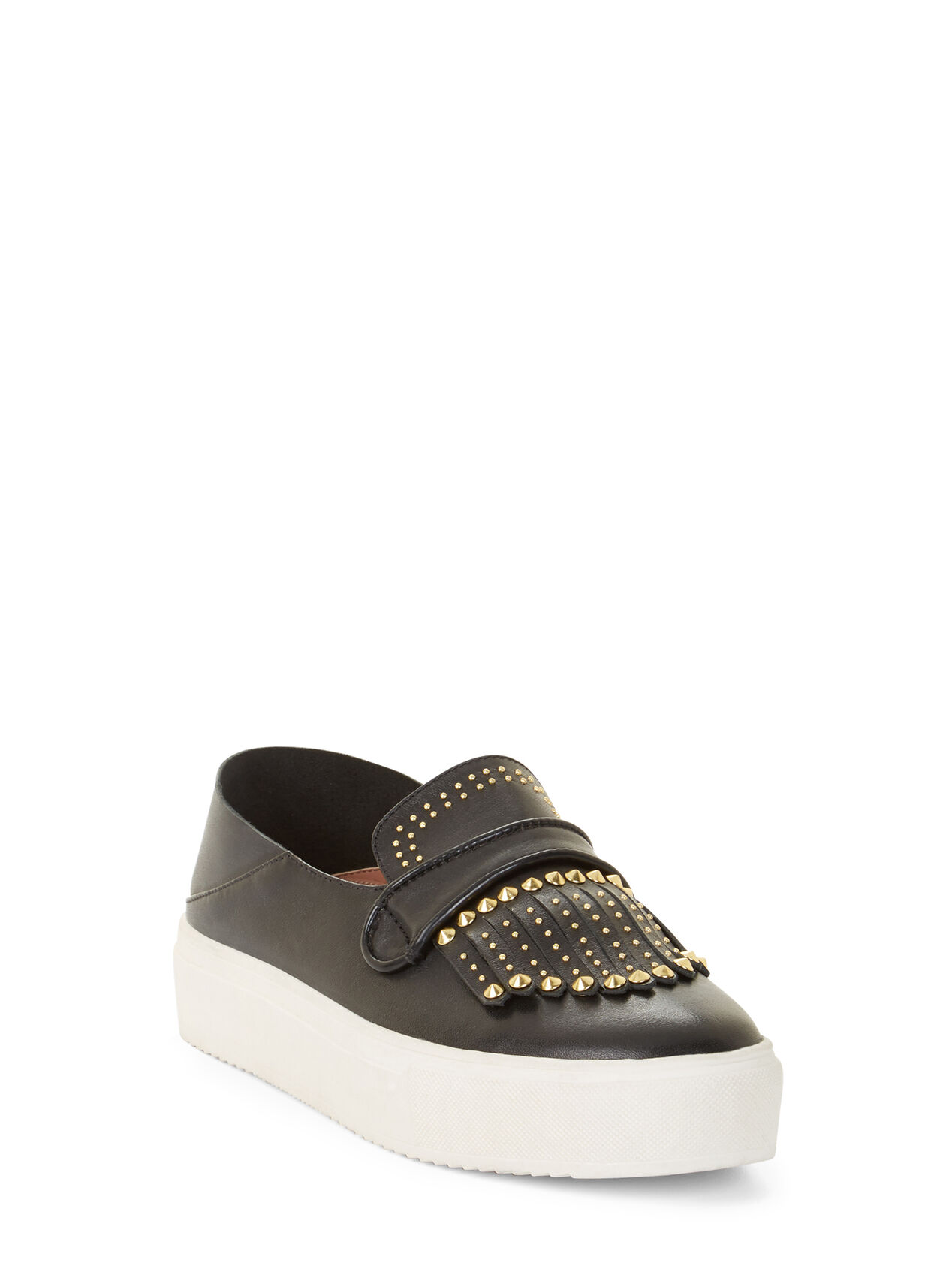 Dita Studded Leather Sneakers