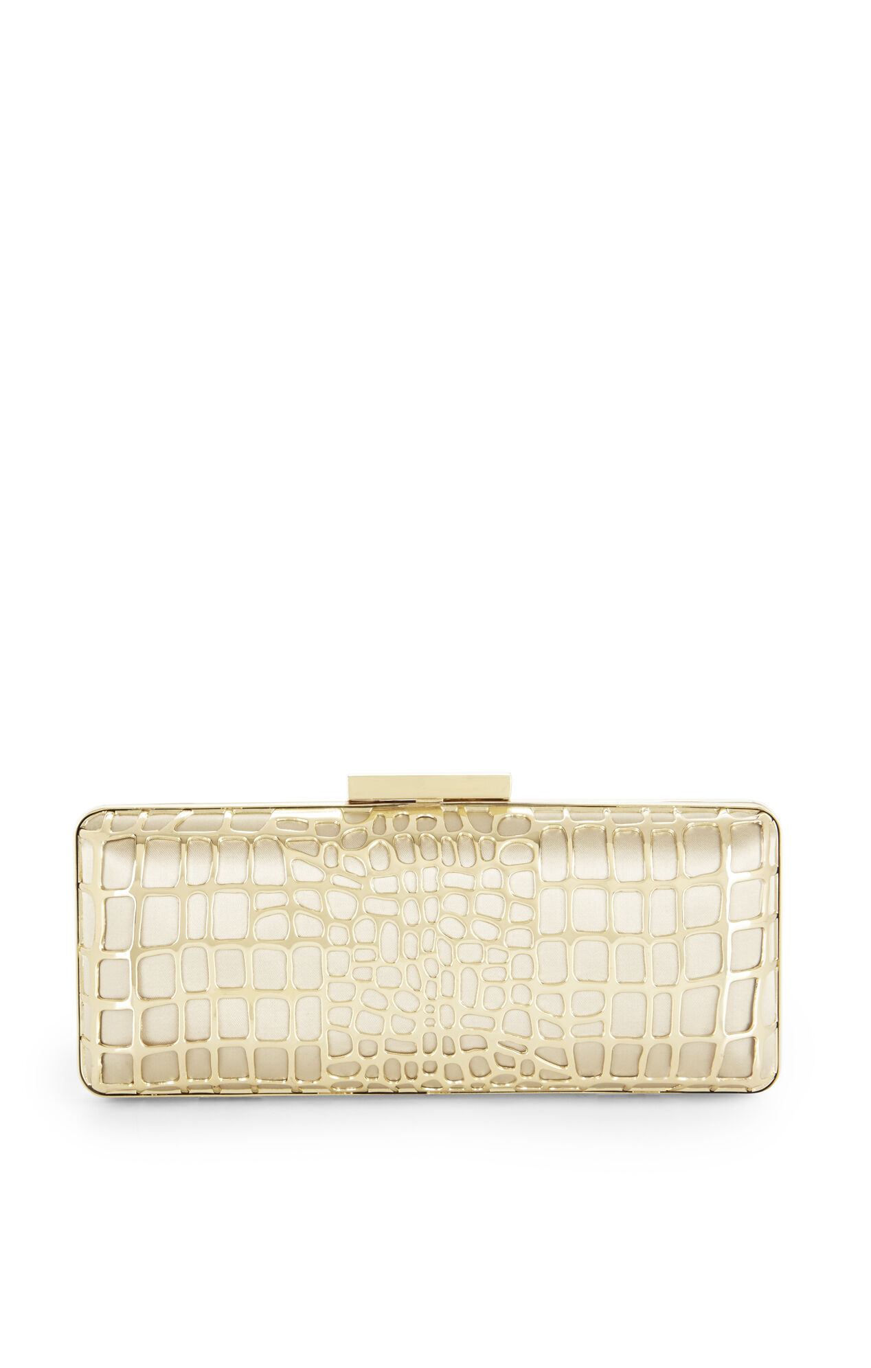 Isabelle Filigree Cage Clutch