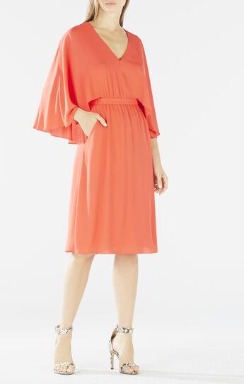 Brittni Cape Kimono Dress