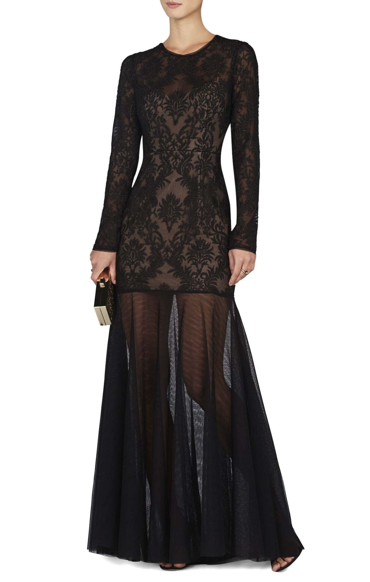 Tatiana Baroque Embroidery Gown