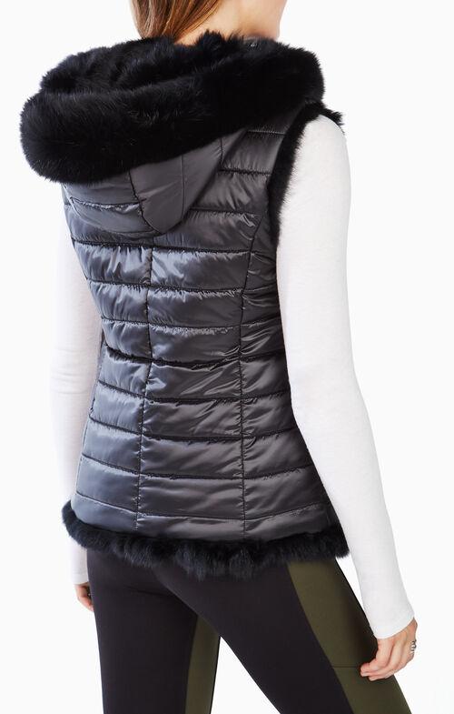 Becca Reversible Fur Vest