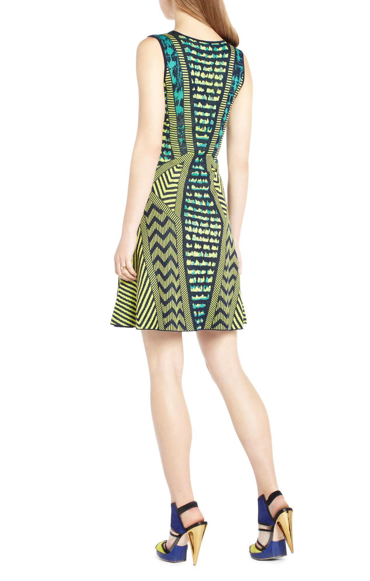 Arista Jacquard Sweater Dress