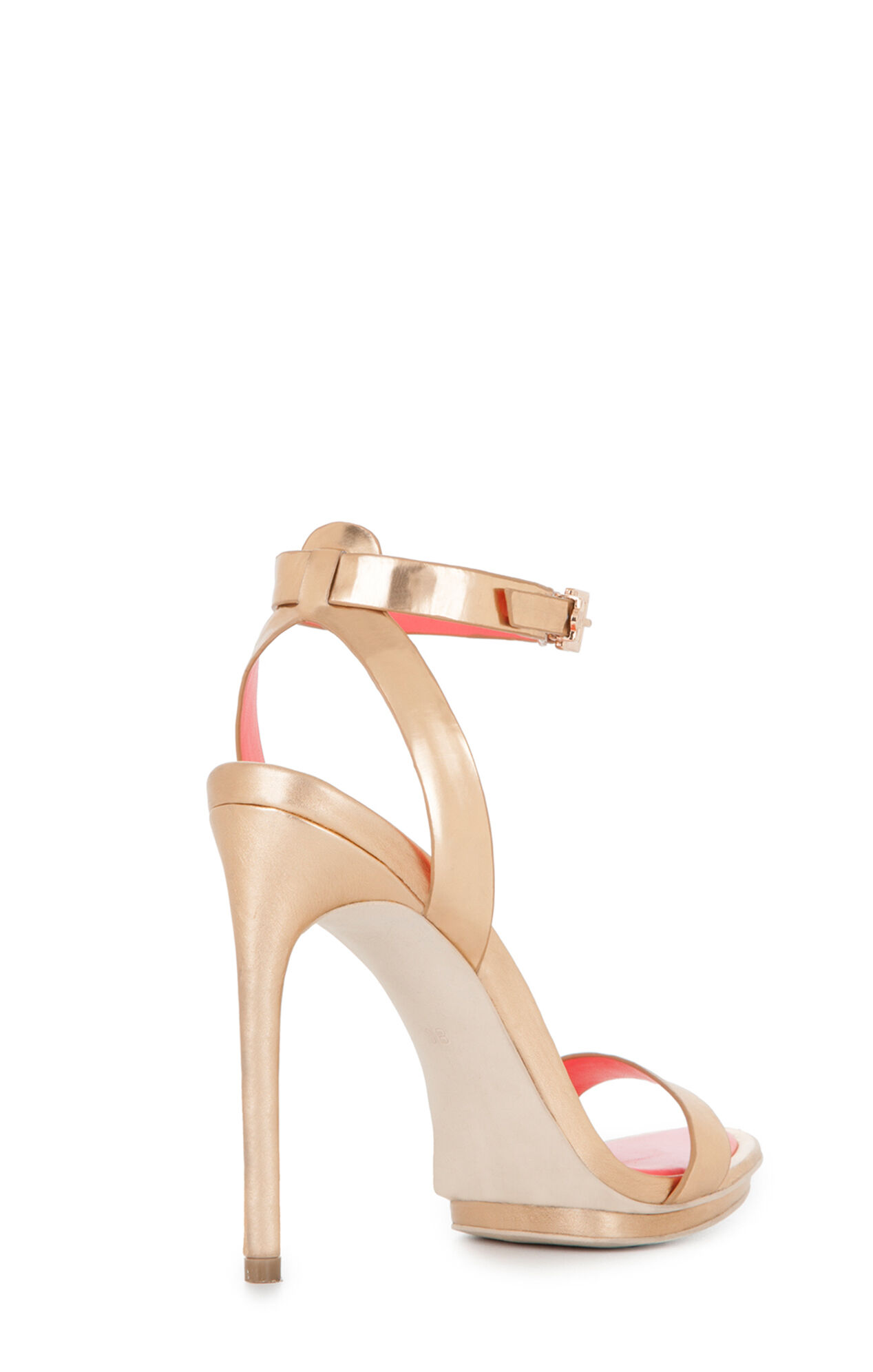 Finite High-Heel Ankle-Strap Sandal