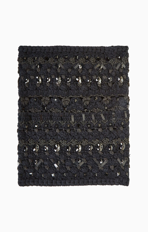 Crystal Crochet Loop Scarf