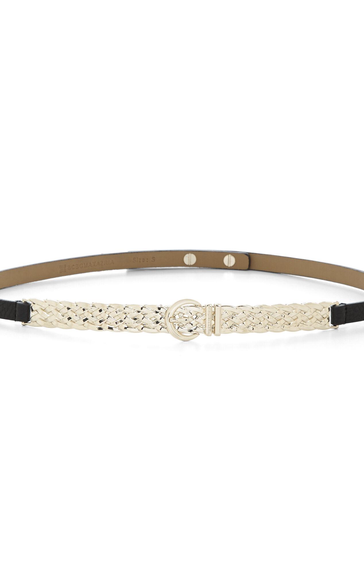 Woven-Plate Belt