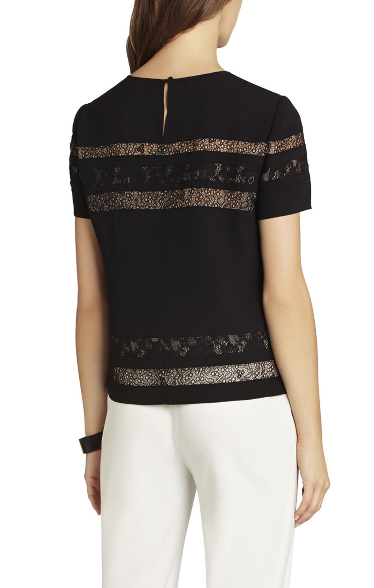 Hayde Blocked Short-Sleeve Top