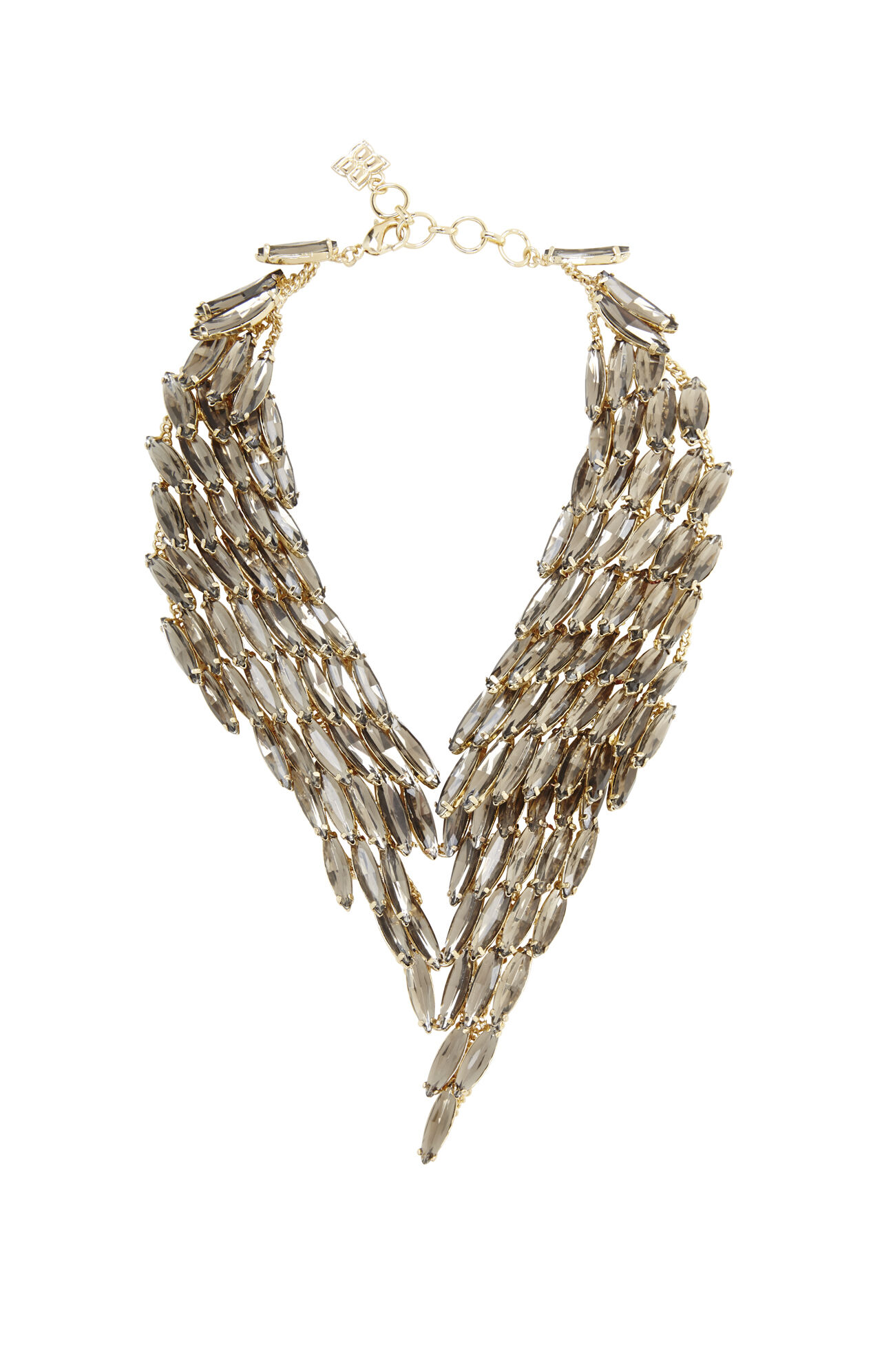 Stone Cascade Necklace