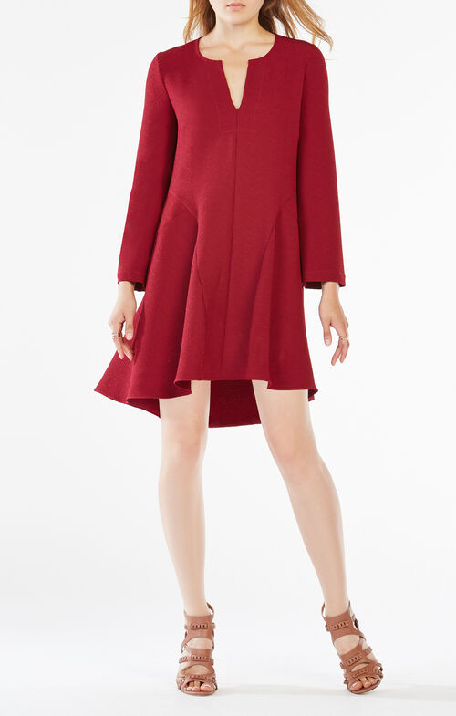 Geena Pebbled Shirt Dress