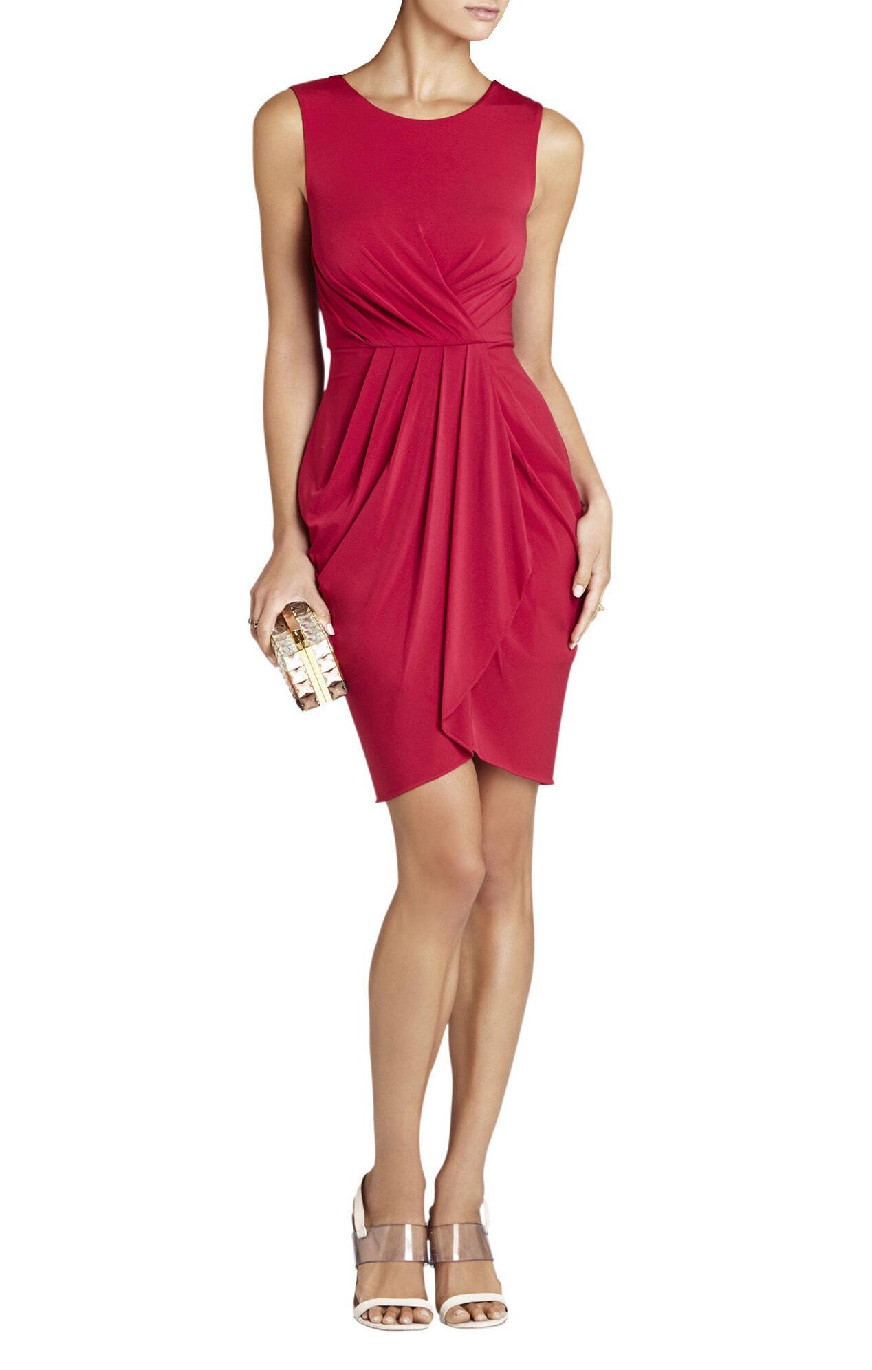 Kaia Sleeveless Pleated-Front Dress