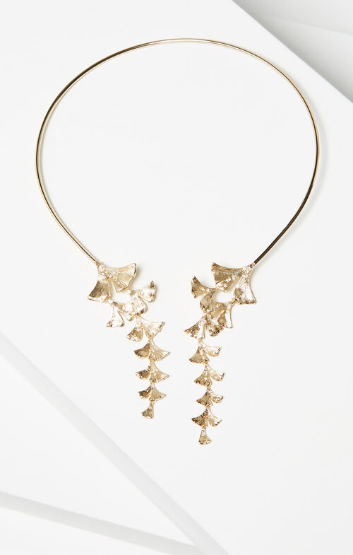 Ginkgo Collar Necklace
