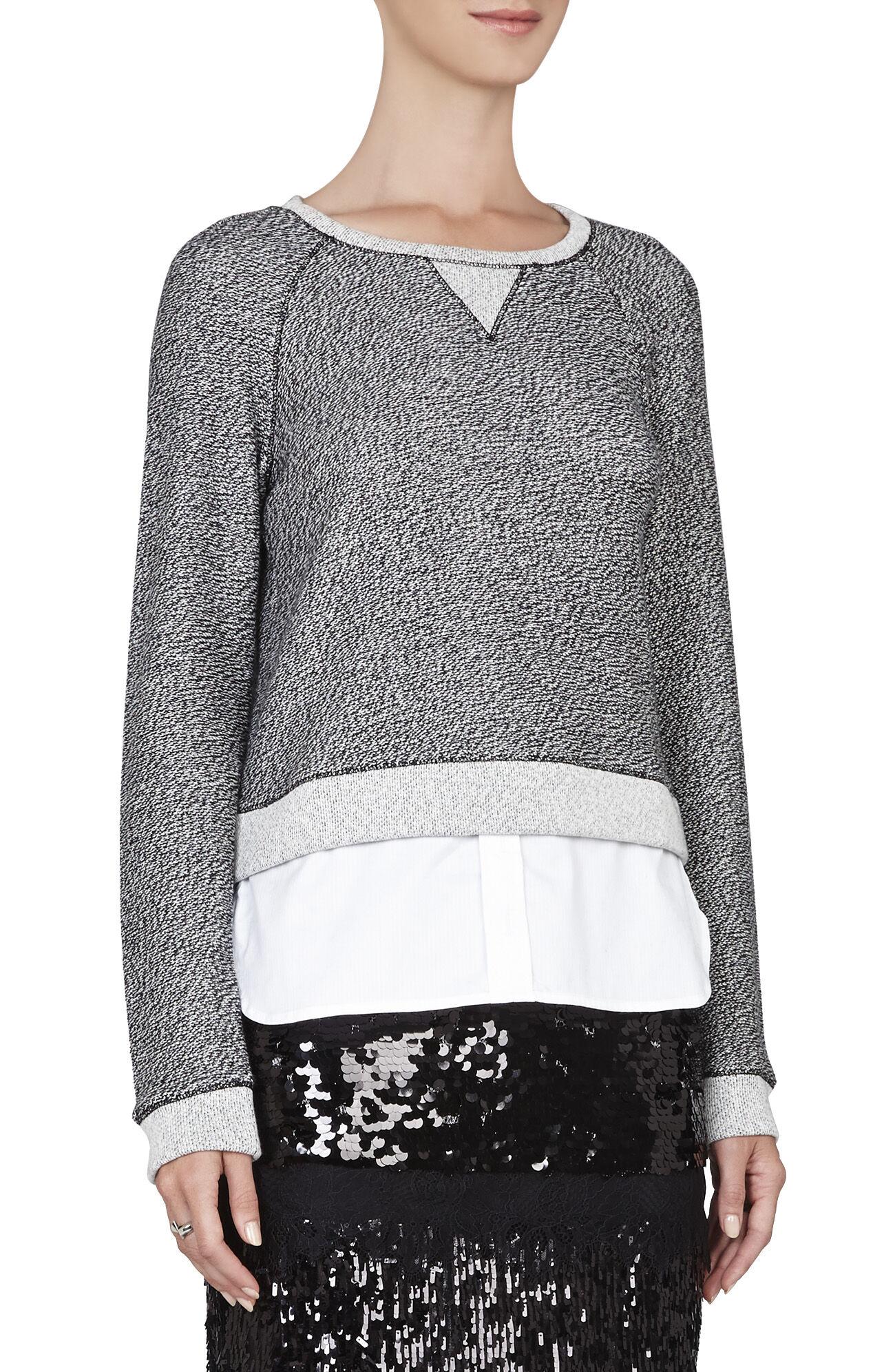 Raven Shirttail Sweatshirt