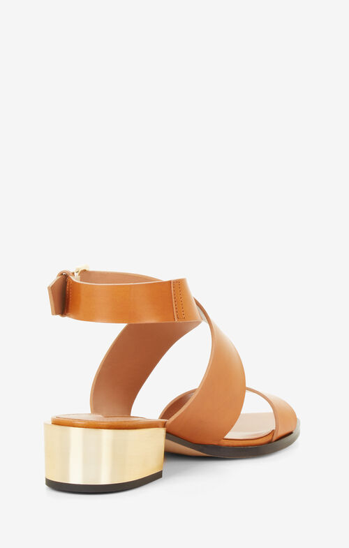 Briella Leather Sandal