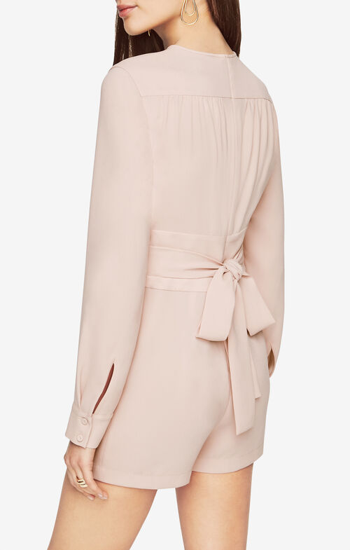 Schyler Satin Romper