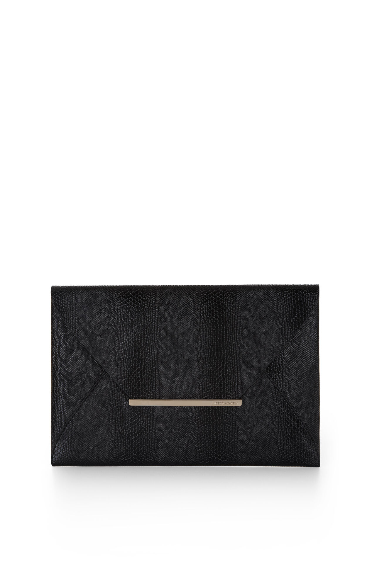 Harlow Embossed Envelope Clutch