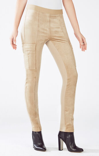 Wilcox Faux-Suede Legging