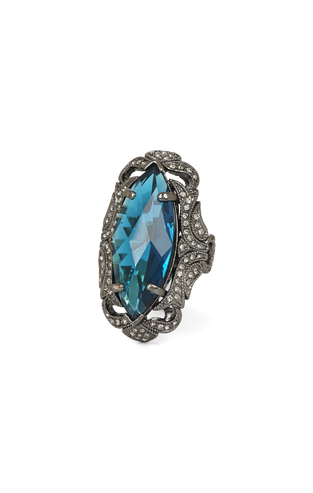Large Gemstone Ring