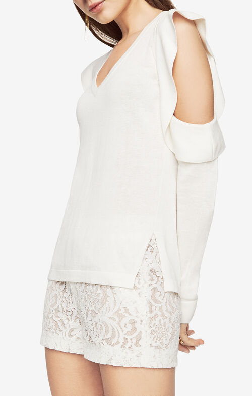 Emile Cold-Shoulder Top