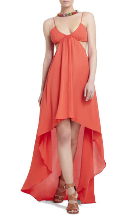 Alyce Asymmetrical-Hem Dress