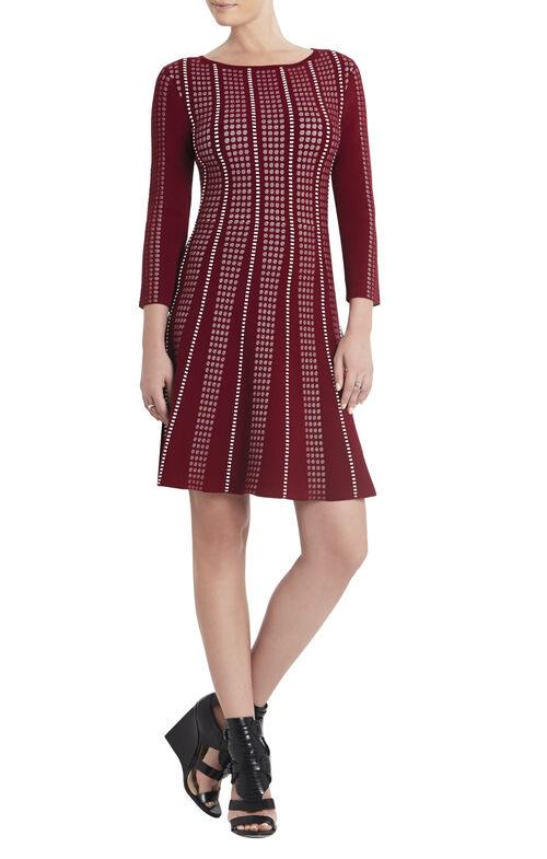 Victoria Boatneck A-line Dress
