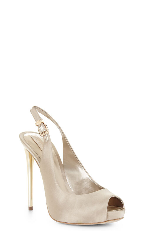 Peyton Peep-Toe Sling-Back Pump