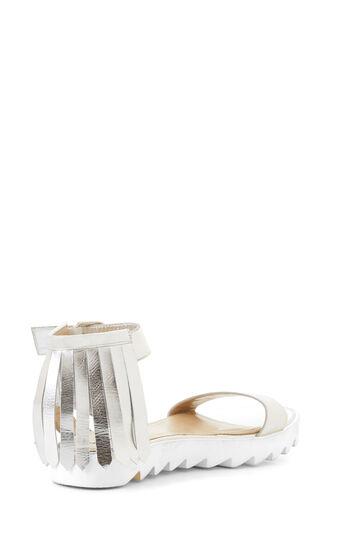 Runway Keran Metallic Fringe Sandal