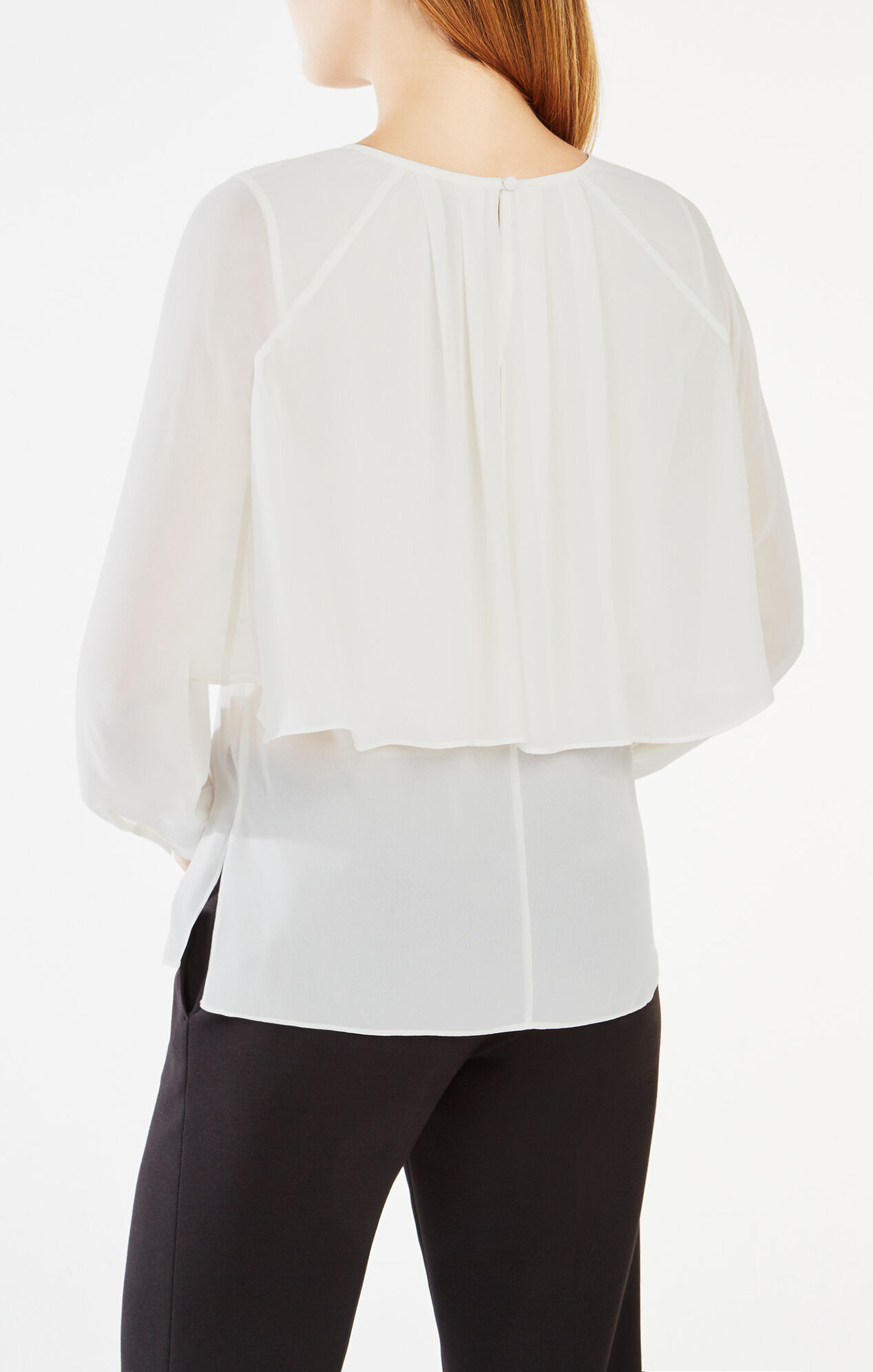 Jourdana Sheer Georgette Blouse