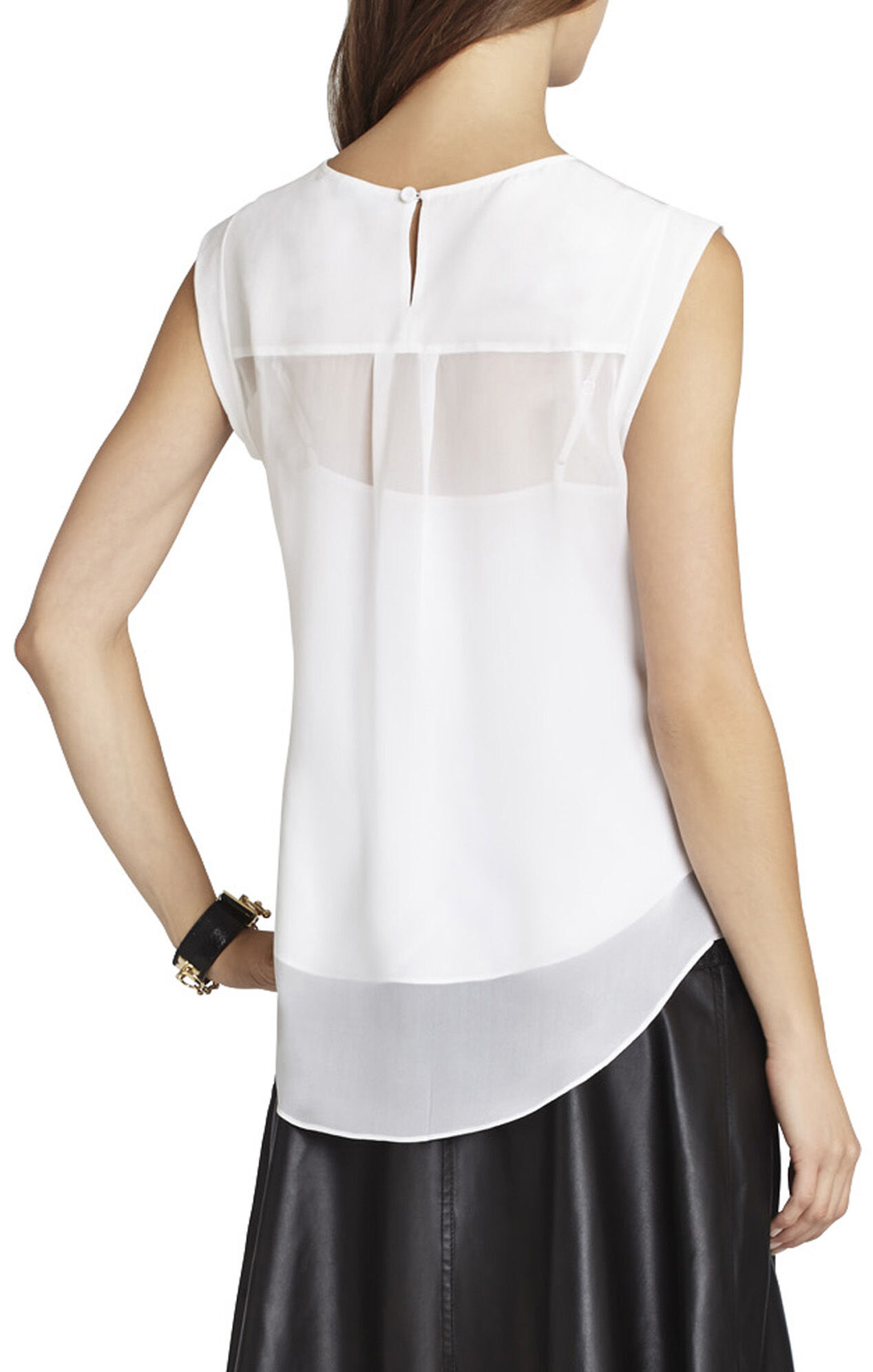 Seline Silk Sleeveless Top