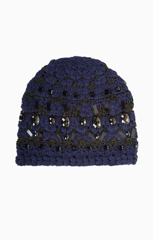Crystal Embellished Beanie