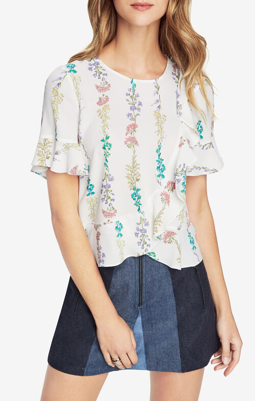 Kenzie Floral-Print Top
