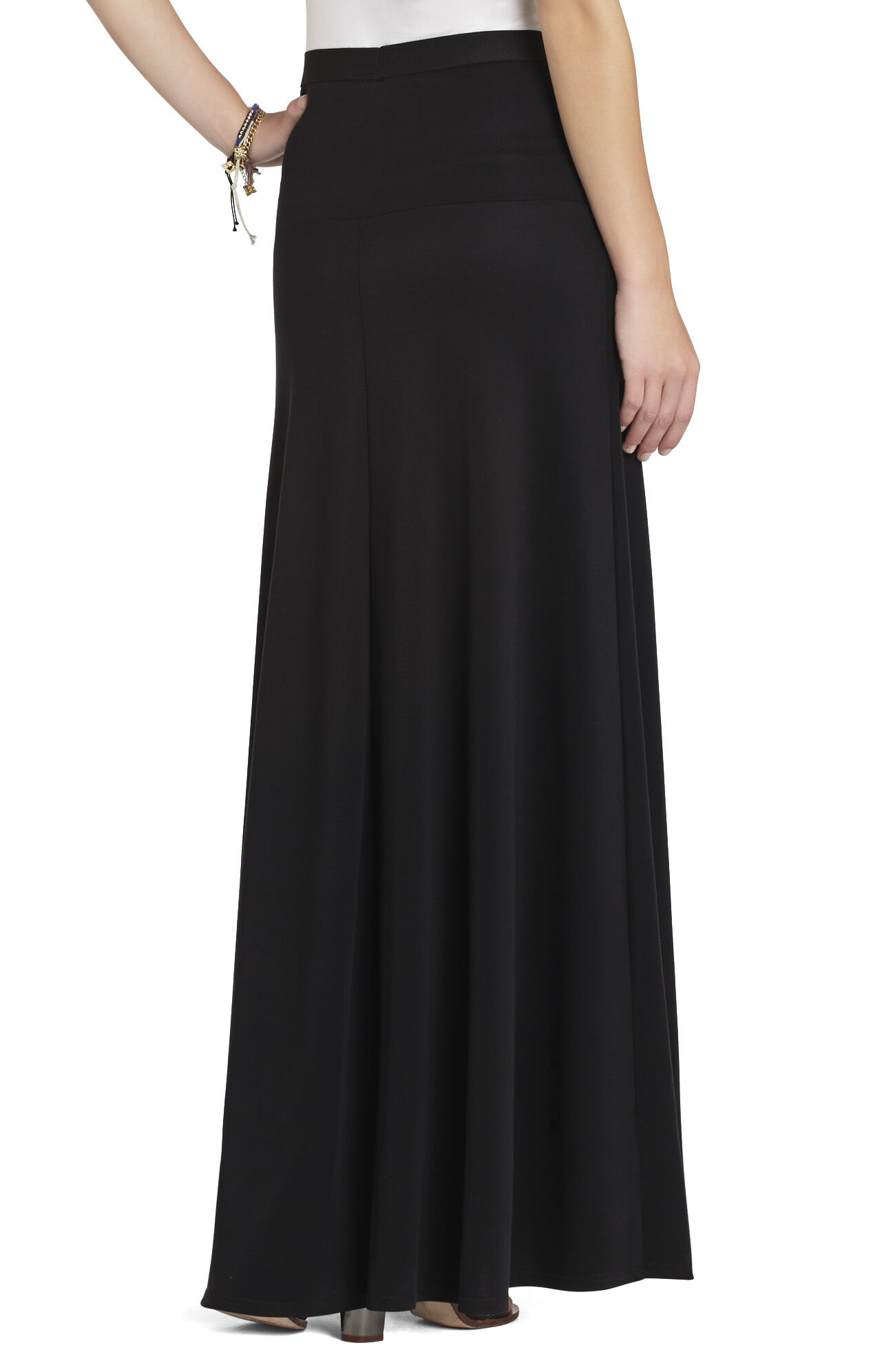 Jaymee Wide-Banded A-Line Skirt