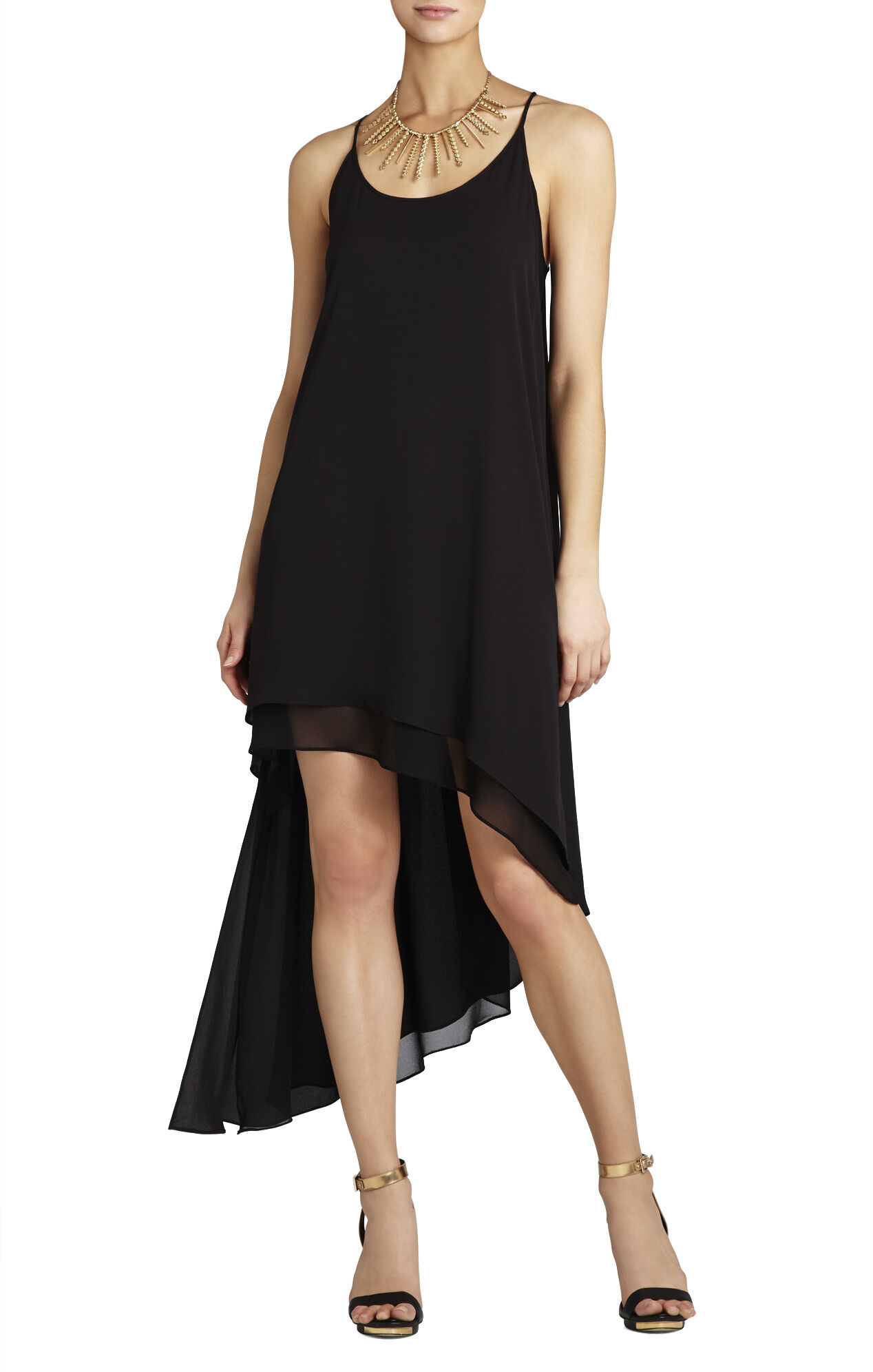 Lienna Double-Layer Tank Dress
