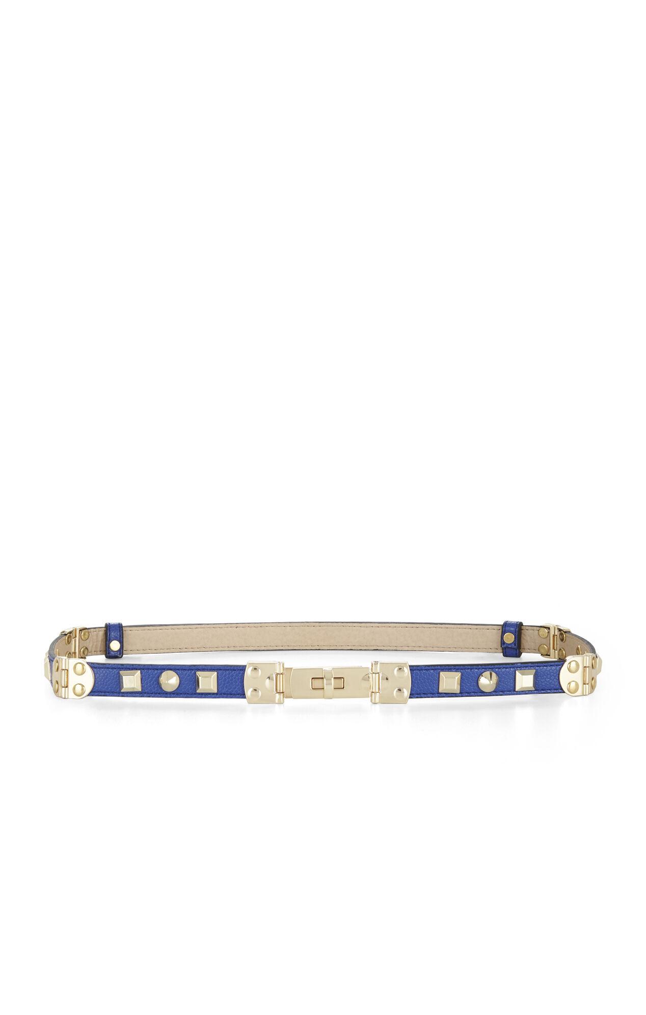 Studded Turn-Lock Hinged Belt
