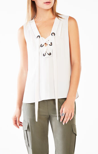 Marcia Lace-Up Tank Top