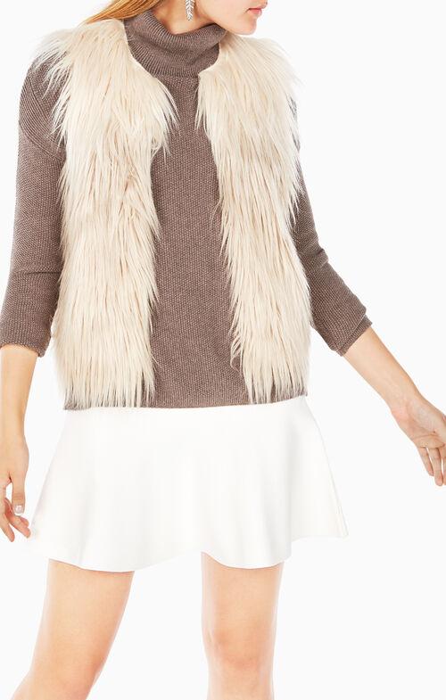 Bonni Ombre Faux-Fur Vest
