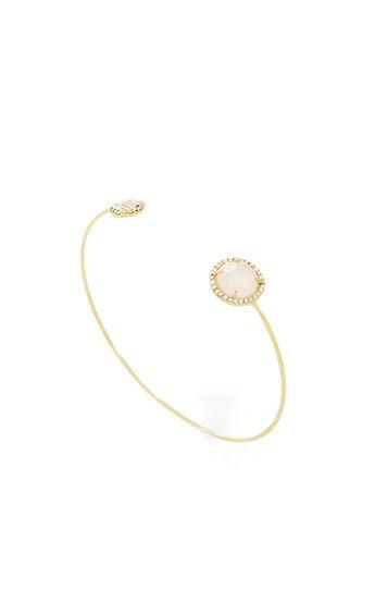 Natural Stone Wire Bracelet