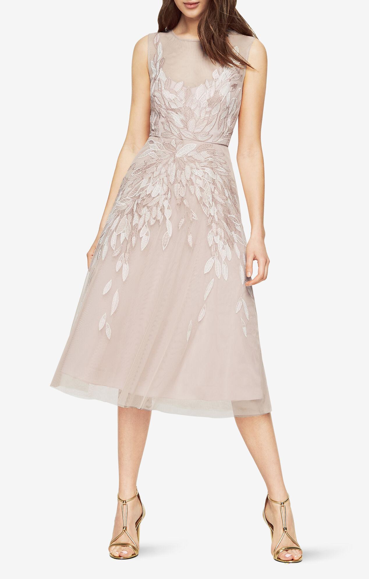 Gustava Embroidered Dress