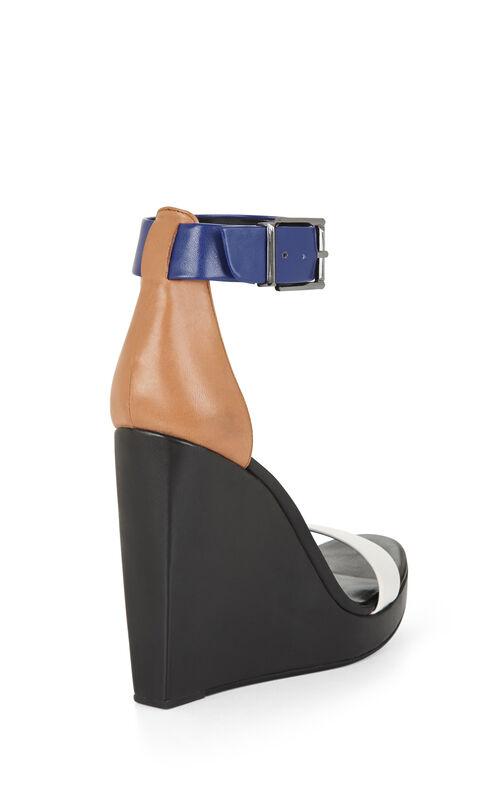 Ledge Color-Blocked Wedge Day Sandal
