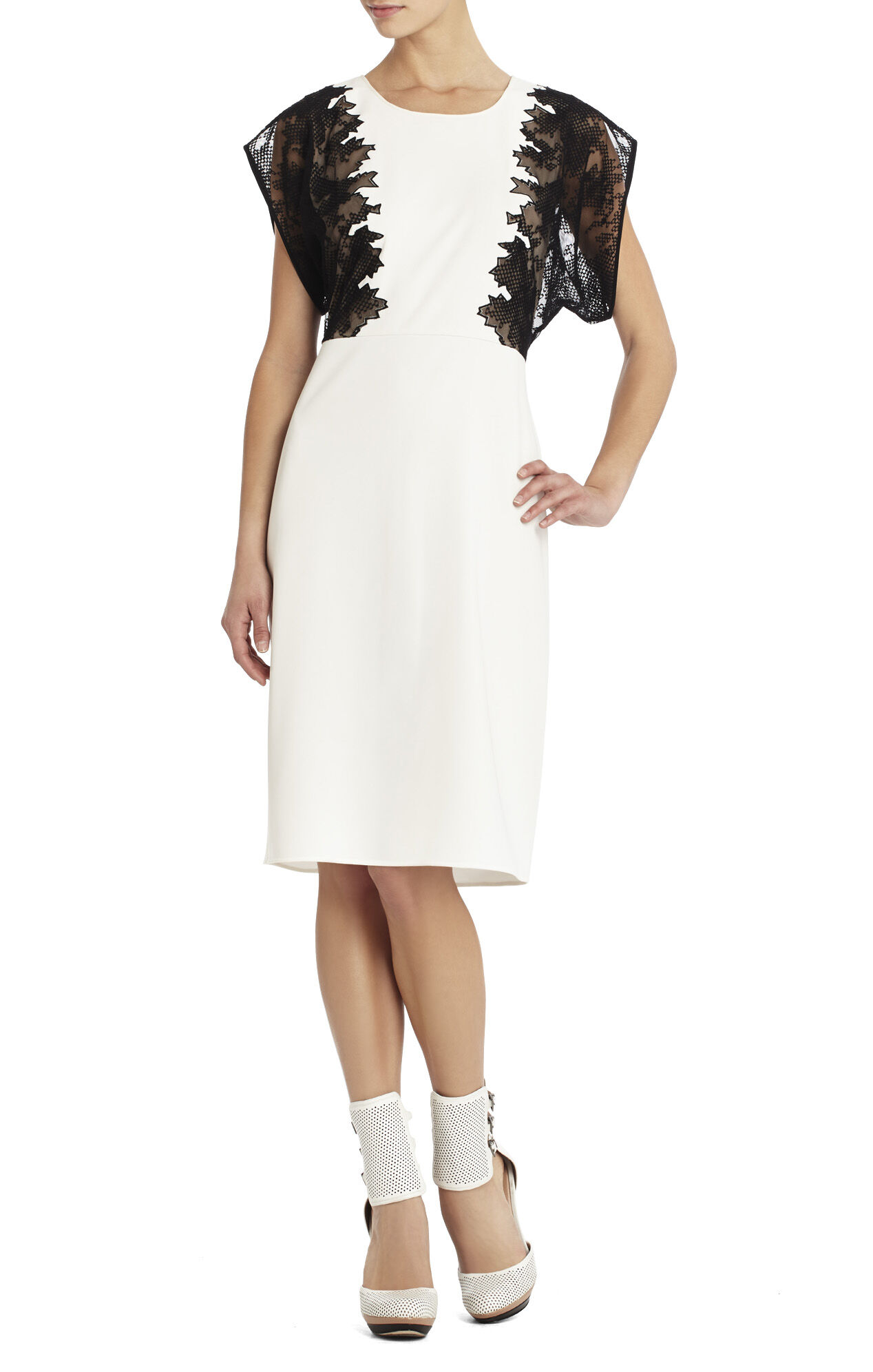 Runway Talc Dress