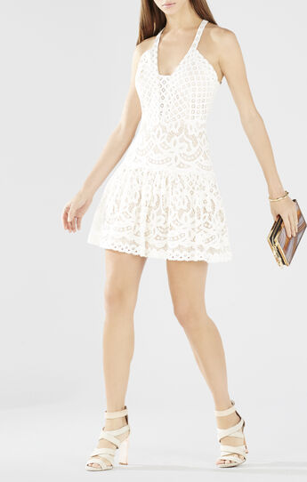 Carlita Sleeveless Lace Dress
