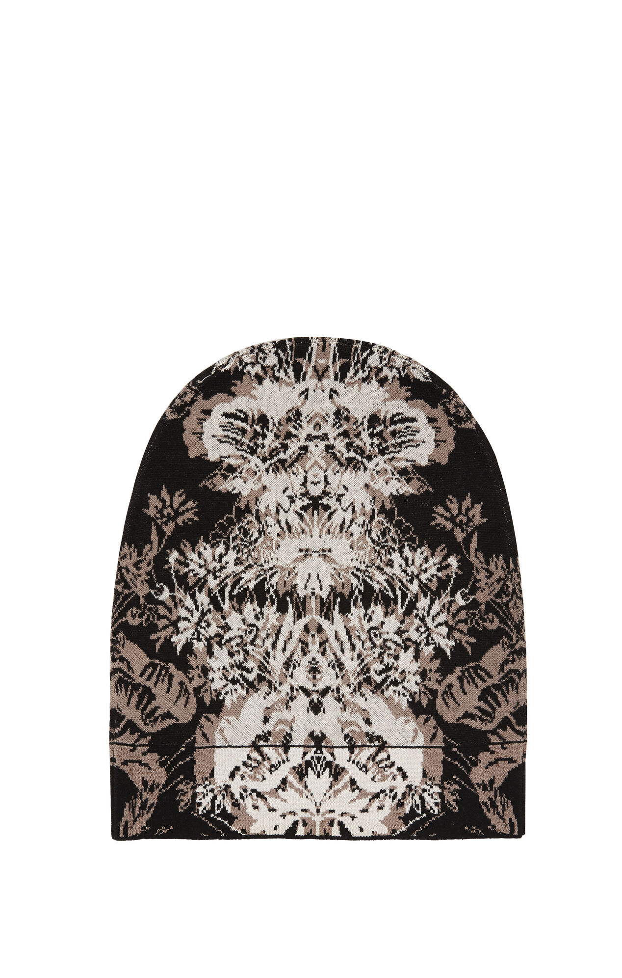Steacy Etched Floral Jacquard Beanie
