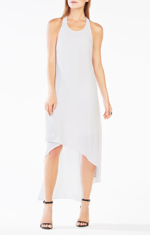 Vickie Fringe High-Low Dress